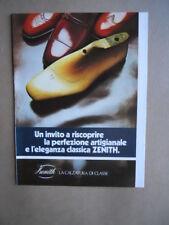 Depliant Pieghevole ZENITH Calzature di Classe 1981  [D39]