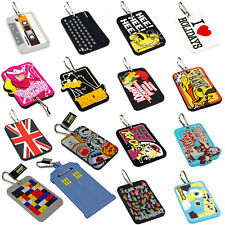 Retro Luggage Tag. Funky Cool Novelty Suitcase Tags Holiday Travel Gift