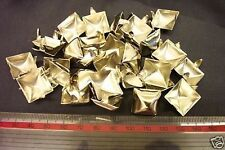 1000 PYRAMID STUDS 15mm ROCKER BIKER LEATHER BELTS PUNK