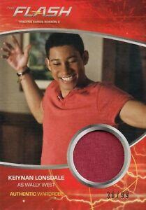 The Flash Season 2, Keiynan Lonsdale 'Wally West' Wardrobe Card M18 #30/99
