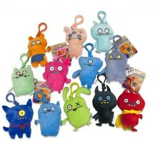 UGLY DOLLS SOFT PLUSH TOY BAG CLIP RANDOMLY - X1 SUPPLIED BLIND PACK- NEW TAGGED