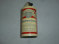 Vintage Budweiser Anheuser Busch Lager Beer Can Lighter Genuine Small Rare 1960S