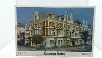 Vintage Postcard Dunoon Hotel Llandudno North Wales AA RAC 1980s