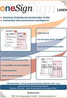Durchschlagpapier kohlefrei Formulare für Laserdrucker