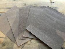5 SHEET SURTIDO oxido de Aluminio Abrasivo Papel 27.9cm x 22.9cm 230mm 280mm