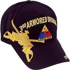 US ARMY 3rd Armored Division Ball Cap Third Armor Persian Gulf War Spearhead Hat