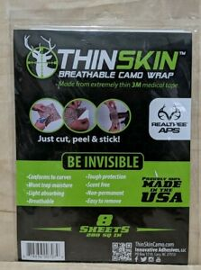 ThinSkin Breathable Camo Wrap 8 Sheets