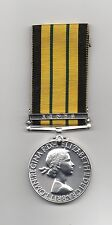 THE AFRICA GENERAL SERVICE MEDAL WITH CLASP: KENYA -  A SUPERB  REPLICA