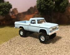 1963 Dodge W100 4x4 Lifted Custom 1/64 Diecast Truck Farm Off Road 4WD W200