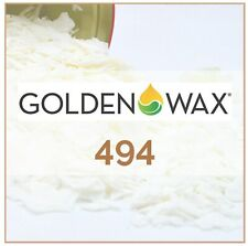 🔆 1kg Golden Wax 494 Soy Wax Flakes For Melts And Tarts