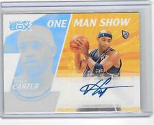 VINCE CARTER 2005/6 TOPPS LUXURY BOX ONE MAN SHOW AUTOGRAPH AUTO #35/124