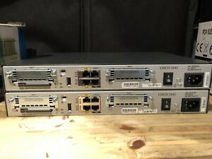 Cisco 1841 CISCO1841 V06 Router with 64MB Flash CCNA CCNP CCIE