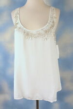 NEW $169 FRENCH CONNECTION beaded sequin glamour tank top blouse shirt 2