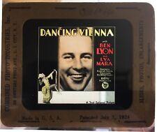 *DANCING VIENNA (1927) Glass Slide American Ben Lyon Loves German Cabaret Singer