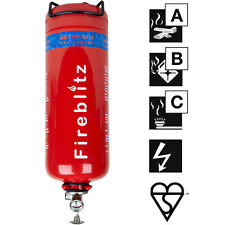 Fireblitz 2kg ABC Dry Powder Automatic Fire Extinguisher Grow Room Safety