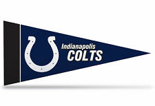 """New NFL Indianapolis Colts Mini Pennant  9""""x4"""" (22 x 9 1/2 cm) Made in USA Flag"""