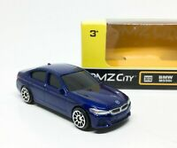 BMW M550I Blue Diecast Car Scale 1/64 (Approx 2.5 inches) RMZ City