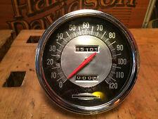 1968er Harley Davidson Early shovel Miles compteur de vitesse compteur de vitesse 67004-68