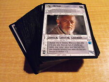 STAR WARS CCG SPECIAL EDITION, COMPLETE SET OF LIGHT SIDE RARES
