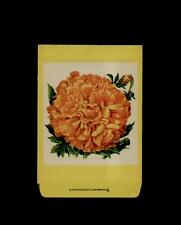 1930's Marigold Litho Seed Packet ~L@K~ Must See-Wow!