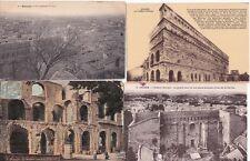 Lot de 4 cartes postales anciennes ORANGE théâtre antique 3