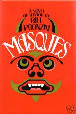 Masques by Bill Pronzini-First Edition/DJ-1981