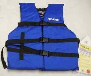"""Revere 778 Universal Life Vest 48""""-65"""" Blue/Black 7930"""