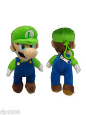 Nintendo Super Mario Brother LUIGI Plush Coin Holder Keychain- NEW with Tags!
