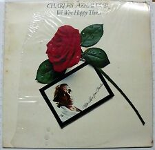 AZNAVOUR CHARLES WE WERE HAPPY THEN LP SEALED ITALY