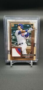 2021 Museum Collection Meaningful Materials Willson Contreras Patch 3 Clr #28/35