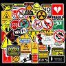 50 X Random Cool  Decal Graffiti Sticker Bomb Skate Laptop PVC Stickers UK