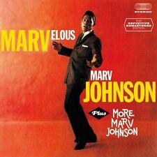 Marv Johnson - Marvelous Marv Johnson + More Marv Johnson [New CD] Spain - Impor