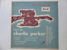l art de CHARLIE PARKER The fabulous Bird guilde du jazz J. 1241