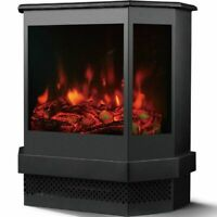 Electric Fireplace Valencia with Remote Control
