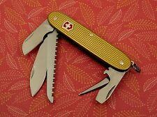 Swiss Bianco Victorinox Electrician Plus Coyote Brown Alox Swiss Army Knife