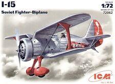 ICM 1/72 I-15 Soviet BiPlane Moscow Air Defence # 72062