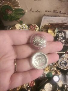 Chanel Button 22mm Resin/ Metal
