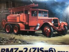 FIRE ENGINE TRUCK TANKER PMZ-2(ZIS-6) by PST 1/72 scale New RARE