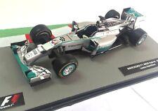 Mercedes F1 W05 Hybrid 2014 Lewis Hamilton Fórmula 1 F1 1/43 IXO Diecast