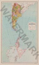 Antartide Argentina Mappa Muro Gigante Poster Art Print LLF0519