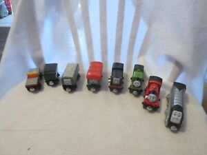 Thomas The Train & Friends Wooden Railway Train Magnetic lot of 8
