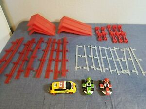 Carrera Go 1:43 Track Accessories & Cars Bundle Lot