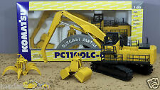 Joal 401 Komatsu Pc1100lc-6 Material Handler Set With 3 Attachments Scale 1 50