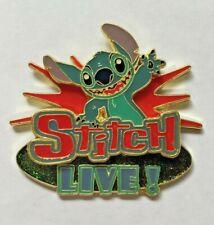 Disney Pin Badge DLRP - Stitch Live!
