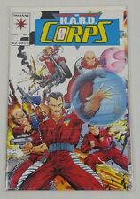 THE H.A.R.D. Corps #1 HARD Valiant Comic Book 1992 David Michelinie David Lapham