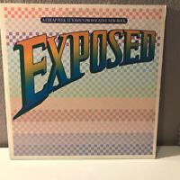 "EXPOSED - 80's CBS Compilation - Double 12"" Vinyl Record LP - EX"