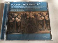 Poulenc:Sacred Music The Cambridge Singers/Rutter (CD 2003 Collegium Records)New