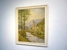 "Ölgemälde ""Willi Braeselow""   ""Berg/Alpen-Panorama"""