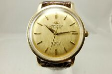 MOVADO VINTAGE 1960s 14K GOLD SUB-SEA KINGMATIC AUTOMATIC WATCH 40531