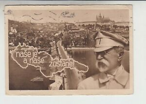 1938 Tschechien Masaryk nase je a nase zustane Patriotika